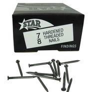 """5/8"""" Hardened Threaded Nails 1lb Box"""