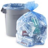 Blue Recycling Trash Bag  12-16 GAL 250/BOX